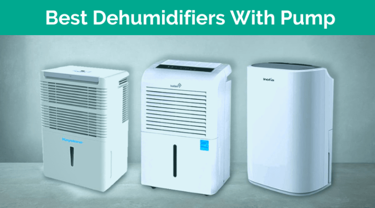 Best Dehumidifier With Pump